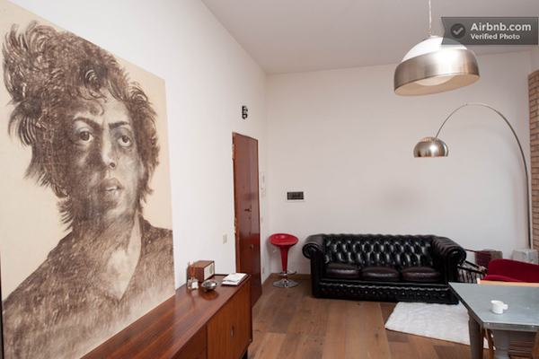 Artist Loft in Rome Italy